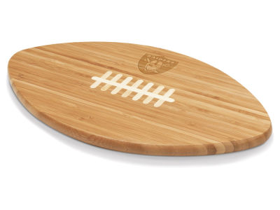 Oakland Raiders Picnic Time Ball Shaped Cutting Board