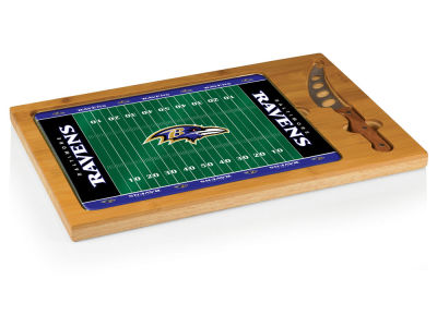 Baltimore Ravens Picnic Time Icon Cutting Board