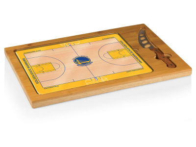Golden State Warriors Picnic Time Icon Cutting Board