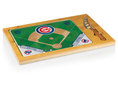 Chicago Cubs Picnic Time Icon Cutting Board