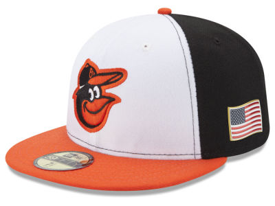 Baltimore Orioles New Era MLB Authentic Collection 9-11 Patch 59FIFTY Cap