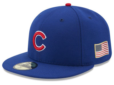 Chicago Cubs New Era MLB Authentic Collection 9-11 Patch 59FIFTY Cap