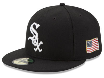 Chicago White Sox New Era MLB Authentic Collection 9-11 Patch 59FIFTY Cap