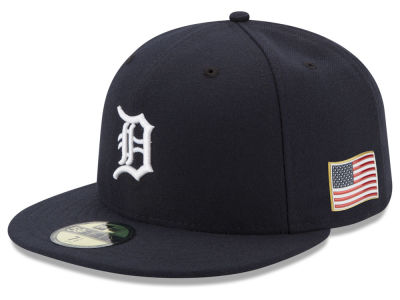 Detroit Tigers New Era MLB Authentic Collection 9-11 Patch 59FIFTY Cap