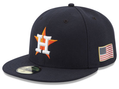 Houston Astros New Era MLB Authentic Collection 9-11 Patch 59FIFTY Cap