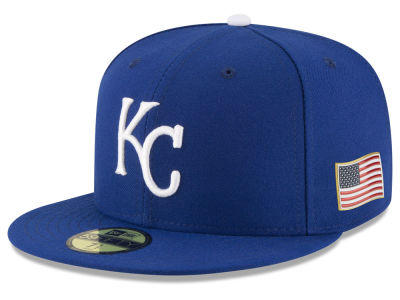 Kansas City Royals New Era MLB Authentic Collection 9-11 Patch 59FIFTY Cap
