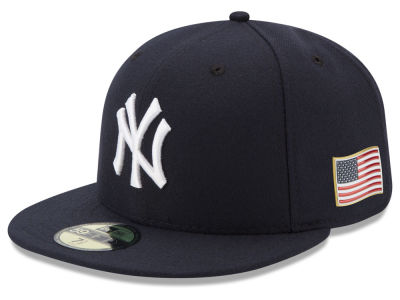 New York Yankees New Era MLB Authentic Collection 9-11 Patch 59FIFTY Cap