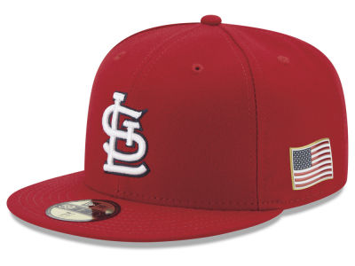 St. Louis Cardinals New Era MLB Authentic Collection 9-11 Patch 59FIFTY Cap