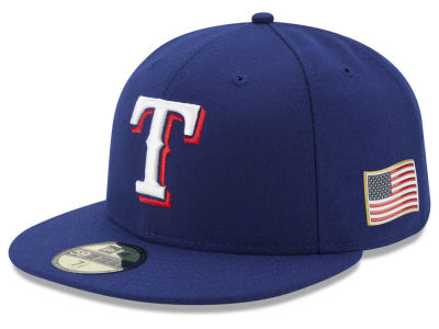 Texas Rangers New Era MLB Authentic Collection 9-11 Patch 59FIFTY Cap