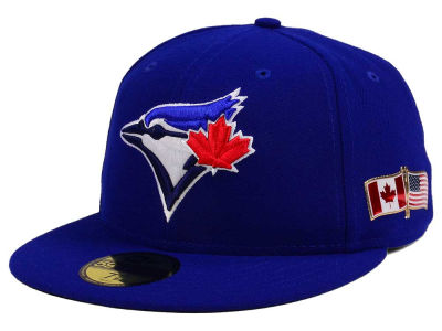 Toronto Blue Jays New Era MLB Authentic Collection 9-11 Patch 59FIFTY Cap