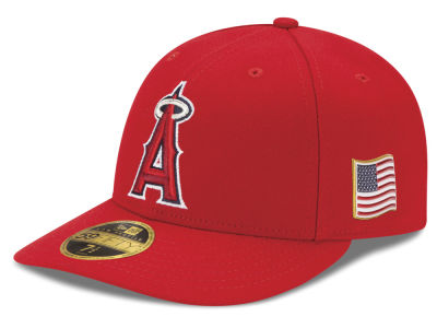 Los Angeles Angels New Era MLB Authentic Collection 9-11 Patch Low Profile 59FIFTY Cap