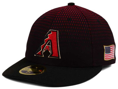 Arizona Diamondbacks New Era MLB Authentic Collection 9-11 Patch Low Profile 59FIFTY Cap