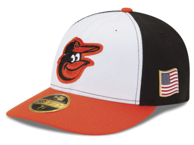 Baltimore Orioles New Era MLB Authentic Collection 9-11 Patch Low Profile 59FIFTY Cap