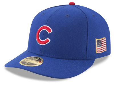 Chicago Cubs New Era MLB Authentic Collection 9-11 Patch Low Profile 59FIFTY Cap