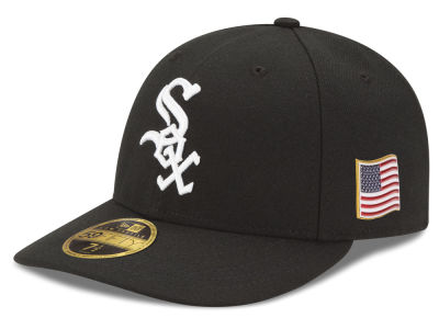 Chicago White Sox New Era MLB Authentic Collection 9-11 Patch Low Profile 59FIFTY Cap