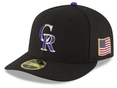 Colorado Rockies New Era MLB Authentic Collection 9-11 Patch Low Profile 59FIFTY Cap