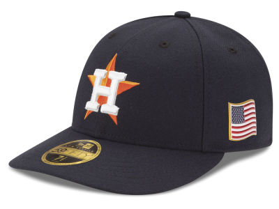 Houston Astros New Era MLB Authentic Collection 9-11 Patch Low Profile 59FIFTY Cap