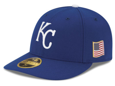 Kansas City Royals New Era MLB Authentic Collection 9-11 Patch Low Profile 59FIFTY Cap