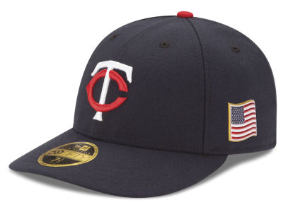 Minnesota Twins New Era MLB Authentic Collection 9-11 Patch Low Profile 59FIFTY Cap