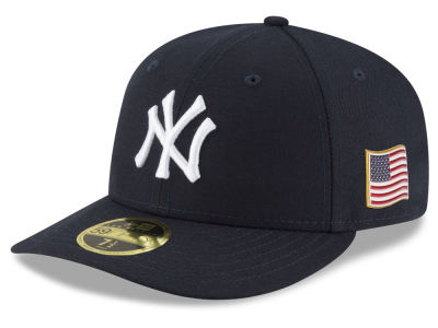 New York Yankees New Era MLB Authentic Collection 9-11 Patch Low Profile 59FIFTY Cap