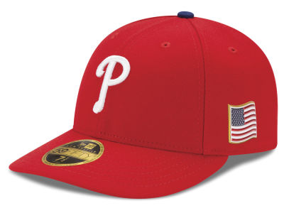 Philadelphia Phillies New Era MLB Authentic Collection 9-11 Patch Low Profile 59FIFTY Cap