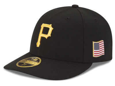 Pittsburgh Pirates New Era MLB Authentic Collection 9-11 Patch Low Profile 59FIFTY Cap