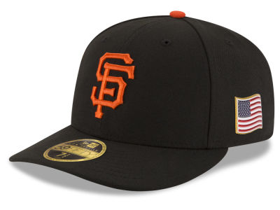 San Francisco Giants New Era MLB Authentic Collection 9-11 Patch Low Profile 59FIFTY Cap