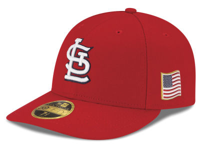 St. Louis Cardinals New Era MLB Authentic Collection 9-11 Patch Low Profile 59FIFTY Cap