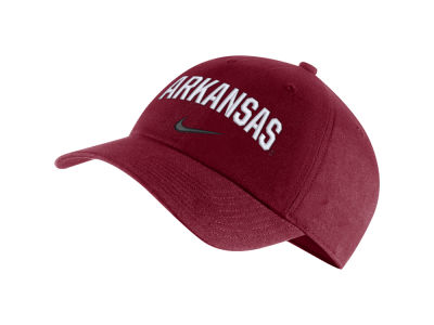 Arkansas Razorbacks Nike NCAA H86 Wordmark Swoosh Cap