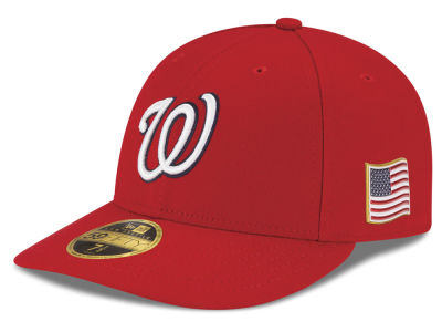 Washington Nationals New Era MLB Authentic Collection 9-11 Patch Low Profile 59FIFTY Cap
