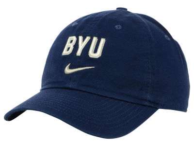 Brigham Young Cougars Nike NCAA H86 Wordmark Swoosh Cap