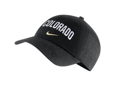 Colorado Buffaloes Nike NCAA H86 Wordmark Swoosh Cap