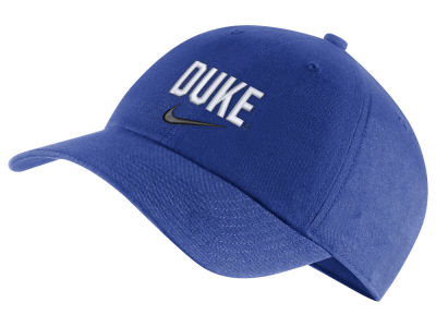 Duke Blue Devils Nike NCAA H86 Wordmark Swoosh Cap