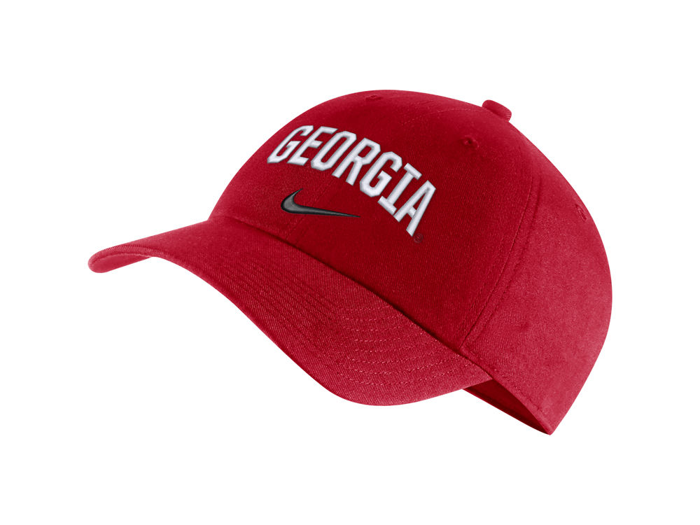 Georgia Bulldogs Nike NCAA H86 Wordmark Swoosh Cap  04fb2c4fff3