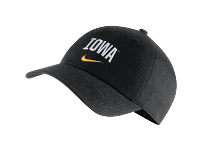 Iowa Hawkeyes Nike NCAA H86 Wordmark Swoosh Cap