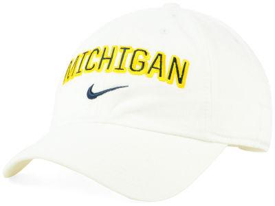 cheap for discount f590f ddb10 Michigan Wolverines Nike NCAA H86 Wordmark Swoosh Cap