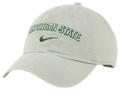 Michigan State Spartans Nike NCAA H86 Wordmark Swoosh Cap