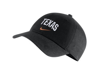 Texas Longhorns Nike NCAA H86 Wordmark Swoosh Cap