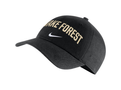 Wake Forest Demon Deacons Nike NCAA H86 Wordmark Swoosh Cap