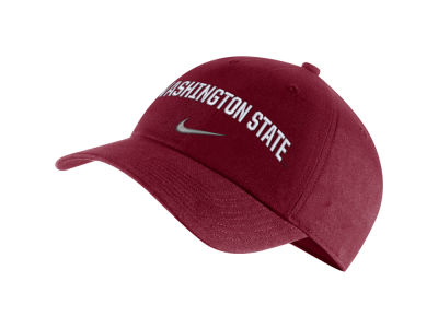 Washington State Cougars Nike NCAA H86 Wordmark Swoosh Cap