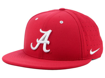 Alabama Crimson Tide Nike NCAA Aerobill True Fitted Baseball Cap
