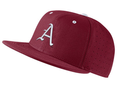 Arkansas Razorbacks Nike NCAA Aerobill True Fitted Baseball Cap