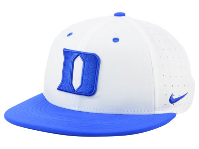 Duke Blue Devils Nike NCAA Aerobill True Fitted Baseball Cap