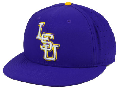 LSU Tigers Nike NCAA Aerobill True Fitted Baseball Cap