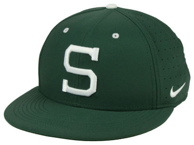 Michigan State Spartans Nike NCAA Aerobill True Fitted Baseball Cap