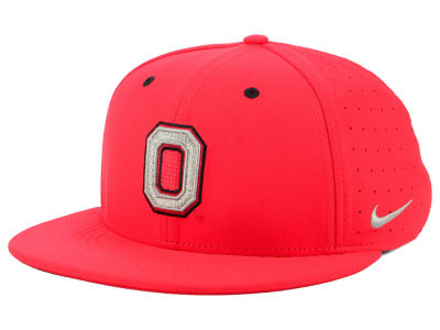 Ohio State Buckeyes Nike NCAA Aerobill True Fitted Baseball Cap