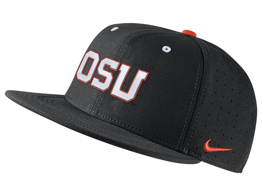 Oregon State Beavers Nike NCAA Aerobill True Fitted Baseball Cap ... 7db1770f76f1