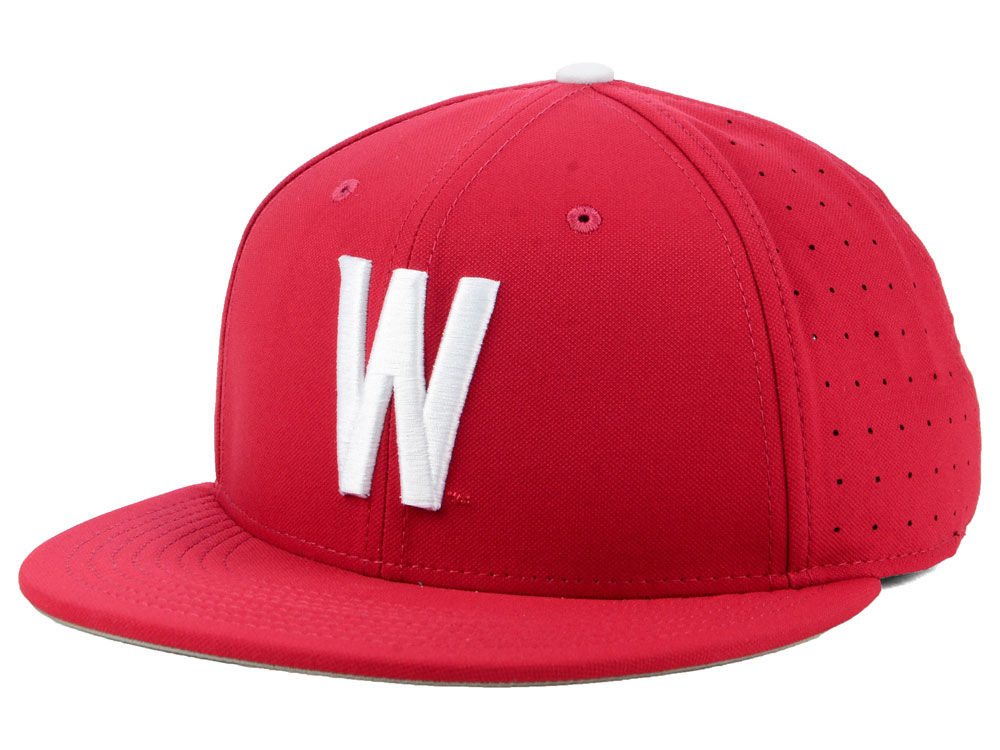 a57753b073c Washington State Cougars Nike NCAA Aerobill True Fitted Baseball Cap ...