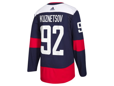 Washington Capitals Evgeny Kuznetsov adidas NHL Men's Authentic Pro Stadium Series Player Jersey
