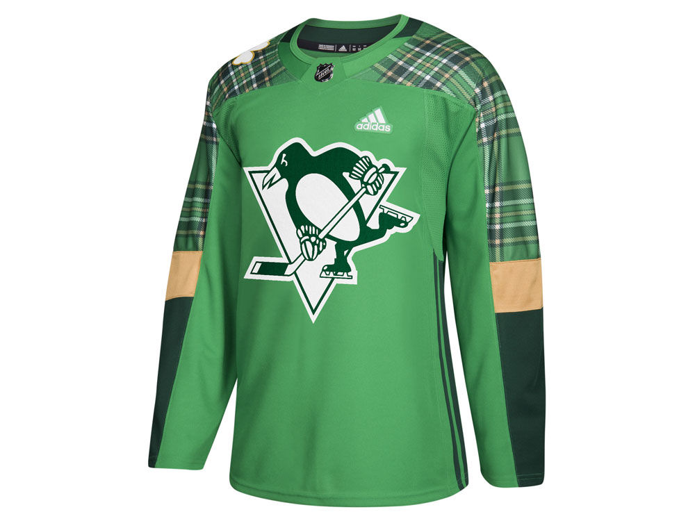 9d7d4e656 germany pittsburgh penguins adidas nhl mens st. patricks day authentic  jersey 843e5 59508